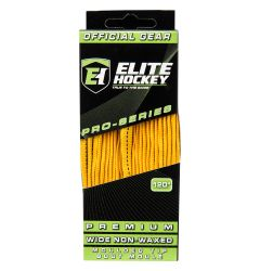 Elite Pro-Series Premium Wide NON-WAXED Molded Tip Laces