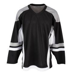 Stadium Adult Hockey Jersey - Black/Gray/White
