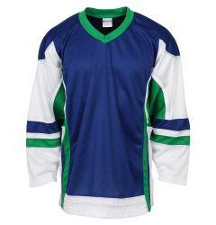 Stadium Youth Hockey Jersey - Royal/Kelley/White