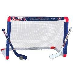 Columbus Blue Jackets Franklin NHL Mini Hockey Goal Set