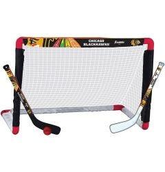 Chicago Blackhawks Franklin NHL Mini Hockey Goal Set