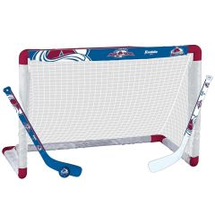 Colorado Avalanche Franklin NHL Mini Hockey Goal Set