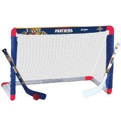 Florida Panthers Franklin NHL Mini Hockey Goal Set
