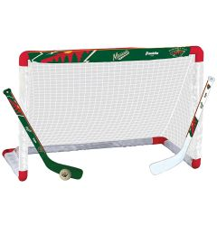 Minnesota Wild Franklin NHL Mini Hockey Goal Set