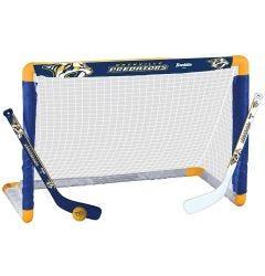 Nashville Predators Franklin NHL Mini Hockey Goal Set