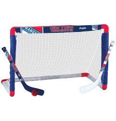 New York Rangers Franklin NHL Mini Hockey Goal Set