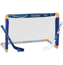 St. Louis Blues Franklin NHL Mini Hockey Goal Set
