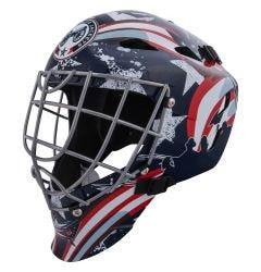 Columbus Blue Jackets Franklin GFM 1500 Goalie Face Mask