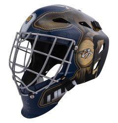 Nashville Predators Franklin GFM 1500 Goalie Face Mask