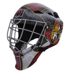Ottawa Senators Franklin GFM 1500 Goalie Face Mask