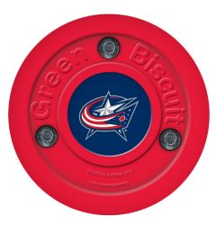 Columbus Blue Jackets Green Biscuit Training Puck