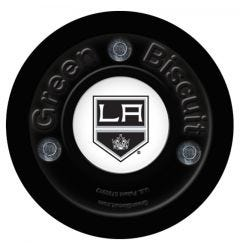 Los Angeles Kings Green Biscuit Training Puck