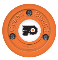 Philadelphia Flyers Green Biscuit Training Puck