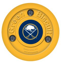 Buffalo Sabres Green Biscuit Training Puck