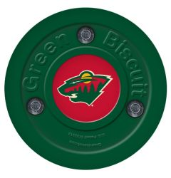 Minnesota Wild Green Biscuit Training Puck