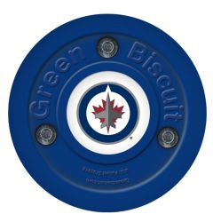 Winnipeg Jets Green Biscuit Training Puck