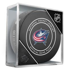 Columbus Blue Jackets Official NHL Game Puck