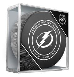 Tampa Bay Lightning Official NHL Game Puck