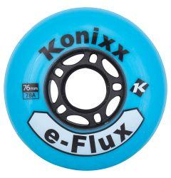 Konixx e-Flux 78A Roller Hockey Wheel - Blue