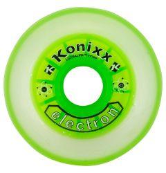 Konixx Electron Roller Hockey Wheel - Clear/Green