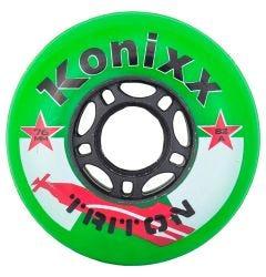 Konixx Triton 82A Roller Hockey Wheel - Green