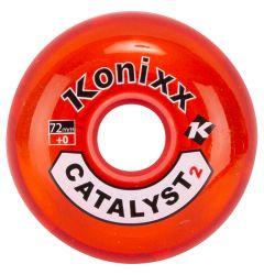 Konixx Catalyst2 Roller Hockey Wheel - Red