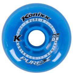 Konixx Pure-X +1 Roller Hockey Wheel - Blue