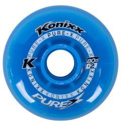 Konixx Pure-X +2 Roller Hockey Wheel - Blue