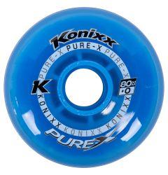 Konixx Pure-X +0 Roller Hockey Wheel - Blue