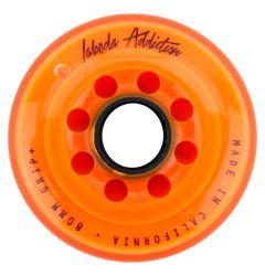 Labeda Addiction Grip+ 78A Roller Hockey Wheel - Orange