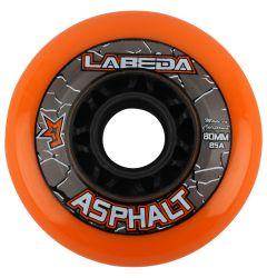 Labeda Asphalt Hard 85A Roller Hockey Wheel - Orange