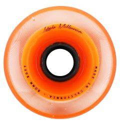 Labeda Millennium 76A Soft Roller Hockey Wheel - Orange