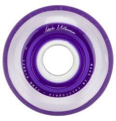 Labeda Gripper Millennium X-Soft 74A Roller Hockey Wheel - Purple