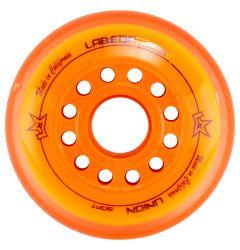 Labeda Union X-Soft 76A Roller Hockey Wheel - Orange