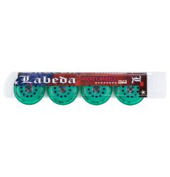 Labeda Union X-Soft 74A Roller Hockey Wheel - Mint - 4 Pack