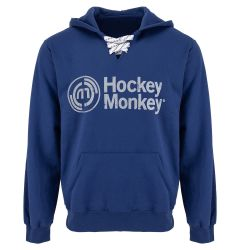 Hockey Monkey Skate Lace Senior Pullover Hoody