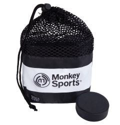 Monkey Sports Official Ice Hockey Puck - 12 Pack