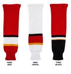 Calgary Flames MonkeySports Knit Hockey Socks