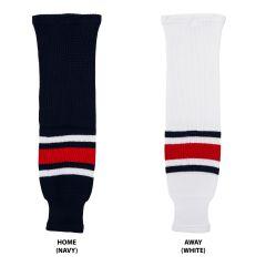 Columbus Blue Jackets MonkeySports Knit Hockey Socks