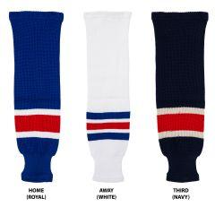 New York Rangers MonkeySports Knit Hockey Socks