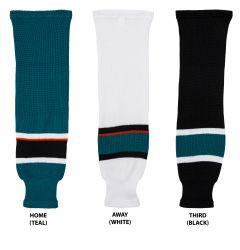 San Jose Sharks MonkeySports Knit Hockey Socks