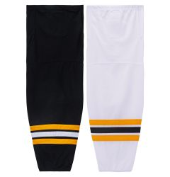 Boston Bruins MonkeySports Mesh Hockey Socks