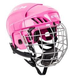 CCM FitLite FL40 Junior Hockey Helmet Combo