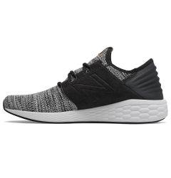 New Balance Fresh Foam Cruz v2 Knit Men's Running Shoes - White/Black