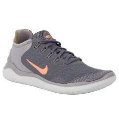 Nike Free RN 2018 Women's Running Shoes - Gunsmoke/Crimson Pulse/Atmospheric Grey
