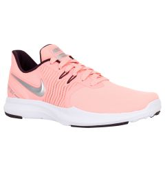 Nike In-Season TR 8 Women's Training Shoes - Pink/Metallic Silver/Burgundy Ash