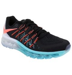 Nike Air Max Women's Training Shoes - Black/Lake Aqua/Hot Lava