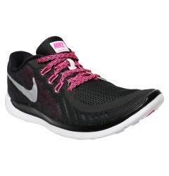 Nike Free 5.0 Youth Training Shoes - Black/Pink