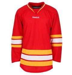 Calgary Flames Reebok Edge Uncrested Adult Hockey Jersey (Old)