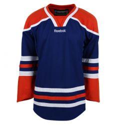 Edmonton Oilers Reebok Edge Uncrested Adult Hockey Jersey